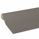 10 x  Tischdecke, Tissue ROYAL Collection 5 m x 1,18 m grau