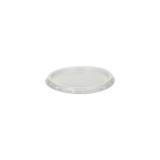 20 x  50 Deckel für Dressingbecher, PP rund Ø 7,1 cm · 0,5 cm transparent