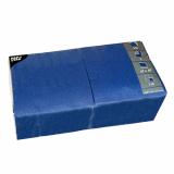 4 x  250 Servietten, 3-lagig 1/4-Falz 40 cm x 40 cm dunkelblau