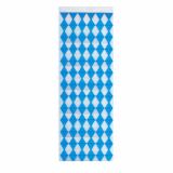 10 x  Wandbanner 160 cm x 42 cm Bayrisch Blau schwer entflammbar