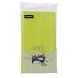 10 x  Tischdecke, stoffähnlich, Vlies soft selection 120 cm x 180 cm limonengrün