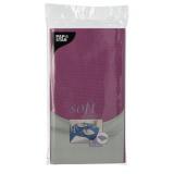 10 x  Tischdecke, stoffähnlich, Vlies soft selection 120 cm x 180 cm lila