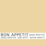 12 x  30 Servietten, 3-lagig 1/4-Falz 33 cm x 33 cm creme Bon Appetit