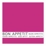 12 x  30 Servietten, 3-lagig 1/4-Falz 33 cm x 33 cm fuchsia Bon Appetit