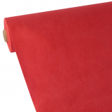 3 x  Tischdecke, stoffähnlich, Vlies soft selection 40 m x 1,18 m rot