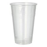 12 x  25 Trinkbecher, PP 0,5 l Ø 9,5 cm · 13,7 cm transparent