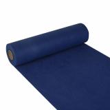 4 x  Tischläufer, stoffähnlich, Vlies soft selection 24 m x 40 cm dunkelblau
