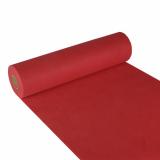 4 x  Tischläufer, stoffähnlich, Vlies soft selection 24 m x 40 cm rot
