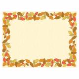 6 x  100 Tischsets, Airlaid 30 cm x 40 cm Autumnal