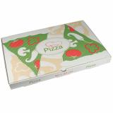 50 Pizzakartons, Cellulose pure eckig 40 cm x 60 cm x 5 cm