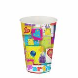 14 x  10 Trinkbecher, Pappe 0,2 l Ø 7 cm · 9,7 cm Party Mix