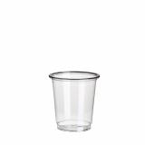 20 x  40 Gläser für Schnaps, PET 4 cl Ø 4,8 cm · 5 cm glasklar