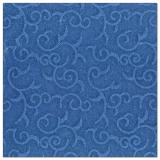5 x  50 Servietten ROYAL Collection 1/4-Falz 40 cm x 40 cm dunkelblau Casali