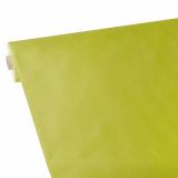 2 x  Tischdecke, stoffähnlich, Vlies soft selection plus 25 m x 1,18 m limonengrün