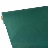 2 x  Tischdecke, stoffähnlich, Vlies soft selection plus 25 m x 1,18 m dunkelgrün