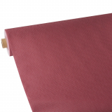 2 x  Tischdecke, stoffähnlich, Vlies soft selection plus 25 m x 1,18 m bordeaux