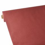 2 x  Tischdecke, stoffähnlich, Vlies soft selection plus 25 m x 1,18 m rot