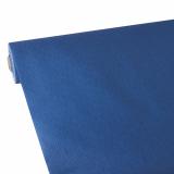 2 x  Tischdecke, stoffähnlich, Vlies soft selection plus 25 m x 1,18 m dunkelblau