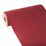 4 x  Tischläufer, stoffähnlich, PV-Tissue Mix ROYAL Collection 24 m x 40 cm bordeaux