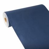 4 x  Tischläufer, stoffähnlich, PV-Tissue Mix ROYAL Collection 24 m x 40 cm dunkelblau