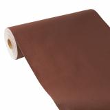 4 x  Tischläufer, stoffähnlich, PV-Tissue Mix ROYAL Collection 24 m x 40 cm braun