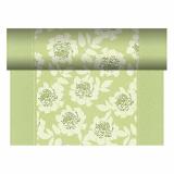 4 x  Tischläufer, stoffähnlich, PV-Tissue Mix ROYAL Collection 24 m x 40 cm grün Adele