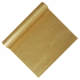 6 x  Tischläufer, stoffähnlich, Vlies soft selection 12 m x 40 cm gold