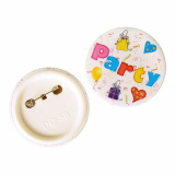 12 x  2 Buttons Ø 56 mm · 8 mm Party Mix