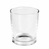 12 x  Deko-Glas rund Ø 96 mm · 110 mm glasklar