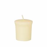 12 x  Duft-Minis, Stearin Ø 45 mm · 50 mm creme - Vanilla Toffee