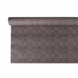12 x  Papiertischtuch mit Damastprägung 6 m x 1,2 m grau
