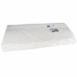 2 x  250 Blatt Papiertischtuch mit Damastprägung eckig 70 cm x 60 cm weiss