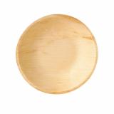 4 x  25 Schalen, Palmblatt pure rund 300 ml Ø 17,5 cm · 3,5 cm