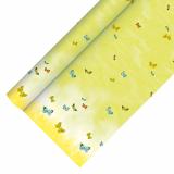 12 x  Tischdecke, Papier 5 m x 1,2 m Papillons