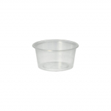 20 x  50 Dressingbecher, PP rund 80 ml Ø 7,1 cm · 3,5 cm transparent
