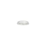 20 x  50 Deckel für Portionsbecher, PP rund Ø 4,6 cm transparent