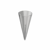10 x  20 Fingerfood - Becher, PS 30 ml Ø 6 cm · 10 cm glasklar Cone