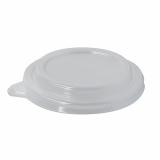 12 x  50 Deckel für Salatschalen, PS To Go Ø 12,5 cm · 2,1 cm glasklar