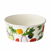 8 x  45 Salatschalen, Pappe To Go 750 ml Ø 15 cm · 6 cm Salad