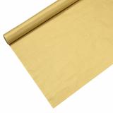 12 x  Tischdecke, Papier 6 m x 1,2 m gold lackiert