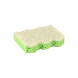 72 x  5 Topfreiniger, Schwamm 9,5 cm x 6,4 cm x 2 cm grün