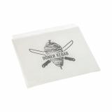 1000 Döner-Kebab-Tüten, Pergament-Ersatz 16 cm x 16 cm weiss fettdicht