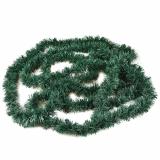 5 x  Festgirlande, Folie Ø 6 cm · 5 m grün , flammensicher