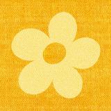 12 x  30 Servietten, 3-lagig 1/4-Falz 33 cm x 33 cm gelb Bloomy