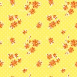 10 x  20 Servietten, 3-lagig 1/4-Falz 40 cm x 40 cm gelb Milleflora