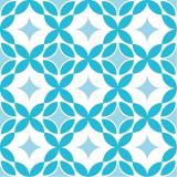 12 x  30 Servietten, 3-lagig 1/4-Falz 33 cm x 33 cm blau Paving
