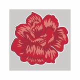 14 x  20 Servietten, 3-lagig 1/4-Falz 25 cm x 25 cm grau Rosa