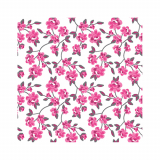 14 x  20 Servietten, 3-lagig 1/4-Falz 25 cm x 25 cm fuchsia Milleflora