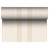 4 x  Tischläufer, stoffähnlich, PV-Tissue Mix ROYAL Collection 24 m x 40 cm champagner Elegance