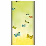 5 x  Tischdecke, stoffähnlich, Airlaid 120 cm x 180 cm Papillons